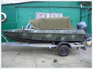 Тюнинг мотолодки Казанка-5М4