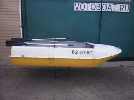 Лодка романтика 4 секции